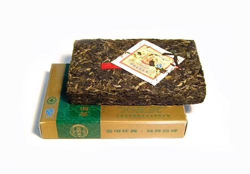 китайский чай пуэр (pu-erh)